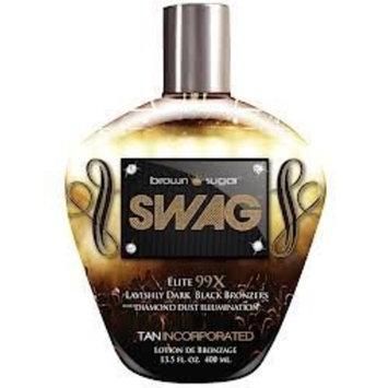 2013 Brown Sugar SWAG 99x Black Bronzer Bronzer Tanning Lotion 13.5 oz.