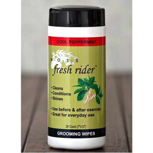 MOSS Fresh Rider Horse Grooming Wipes - Lavender