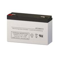 Peg Perego Energy Cube Type C Replacement Battery (6V 12AH SLA Battery)