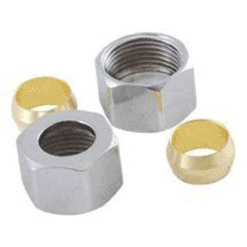 507 8200 Compression Nuts & Sleeves For 3/8 Od (Ps2122, P81)