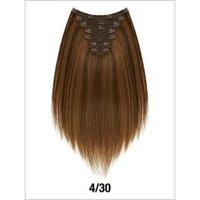 EVITA SIX PIECE STRAIGHT HUMAN HAIR CLIP IN EXTENSION 14
