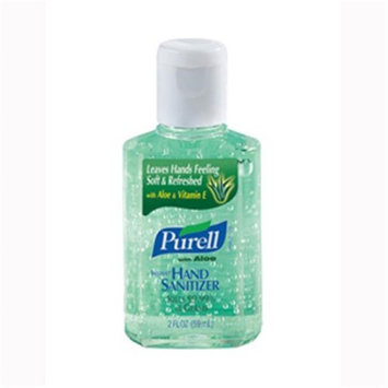 Gojo Industries GOJO 9682-24 Purell Advanced With Aloe Instant Hand Sanitizer 24 Per Case