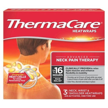 ThermaCare Neck, Wrist, and shoulder Heat Wrap - 3 Count