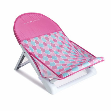 Baby Delight Cushy Nest Lite Deluxe Infant Bather   Mermaid Tail Fabric   Machine Washable, Pink