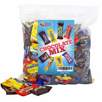 Chocolate Variety Pack Fun Size Mix, All Your Favorite Chocolate Bars Including M&M, Snickers, Butterfinger, Twix and More, 4 LB Bulk Candy