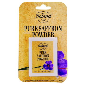 Roland Pure Saffron Powder, 3 Envelopes