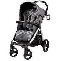 Peg Perego IPBO28US34UT53PG53 Book Stroller - Pois Grey Charcoal