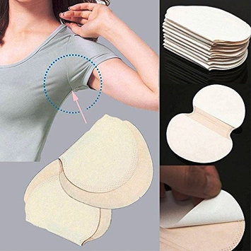 Auwer 30pc Underarm Adhesive Sweat Pad Armpit goodbye Antiperspirant Deodorant Deodera