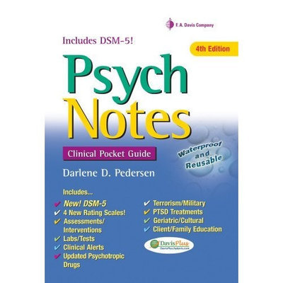 PsychNotes: Clinical Pocket Guide, 4th Edition (Davis's Notes)