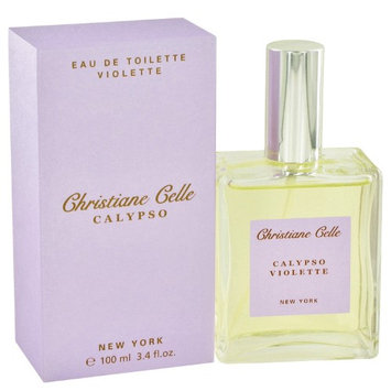 Calypso Violette By Calypso Christiane Celle For Women Eau De Toilette Spray 3.4 Oz