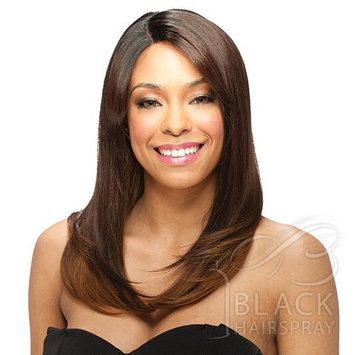 ModelModel Deep Invisible Part Lace Front Wig Mademoiselle (#1 Jet Black)