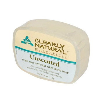 2 Packs of Clearly Natural Glycerine Bar Soap Unscented - 4 Oz