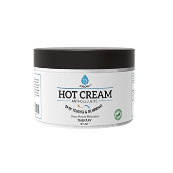 Pursonic Anti Cellulite and Muscle Relaxation Hot Cream, 0.90 Pound