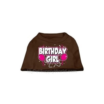 Ahi Birthday Girl Screen Print Shirts Brown Lg (14)