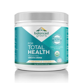 Balanced Greens Total Health - Formulated by Dr. Cindy Schmillen to Target Health Issues, Provide prevention, Vibrant Health and Energy