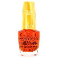 Opi Nail Polish & Treatments OPI Top Coat Sheer Tints - NT SO1 I'm Never Amberrassed