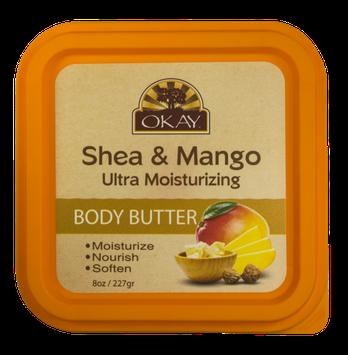 OKAY Shea & Mango Ultra Moisturizing Body Butter 8 oz