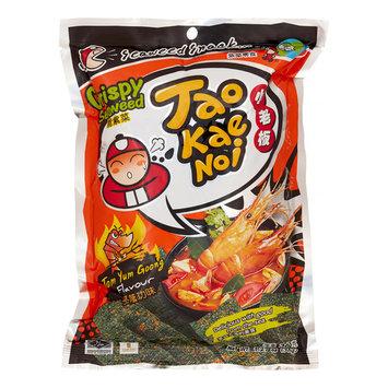 Taokaenoi, Crispy Seaweed Tom Yum Goong Flavor, 36g
