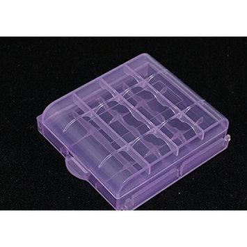 Domire Pack of 4 PCS AA / AAA Battery Storage Hard Case Box