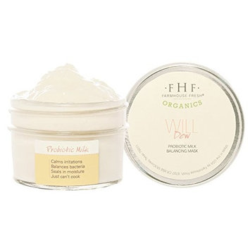 FarmHouse Fresh Organics Will Dew Probiotic Milk Balancing Mask