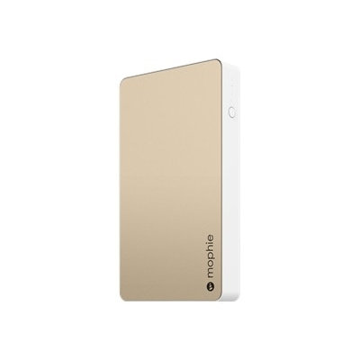 Mophie - Juice Pack 6000 Mah Portable Charger For Most Mini USB Devices - Gold