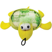 Plush Tishy Turtle Dog Toy, 10.5