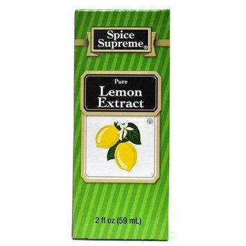 DDI Spice Supreme Lemon Extract- Case of 24