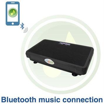 Superthin Black CrazyFit Full Body Vibration Platform Massage Machine MP3 Player