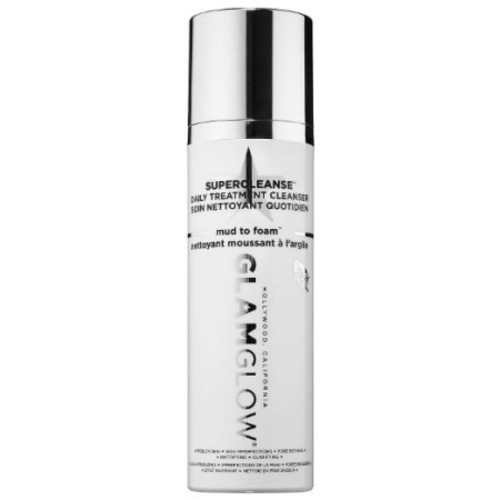 GLAM GLOW Supercleanse Daily Clearing Cleanser Mud to Foam 5.0 oz 150 g