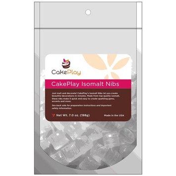 CakePlay Isomalt Nibs One 7-Oz Pack - Black