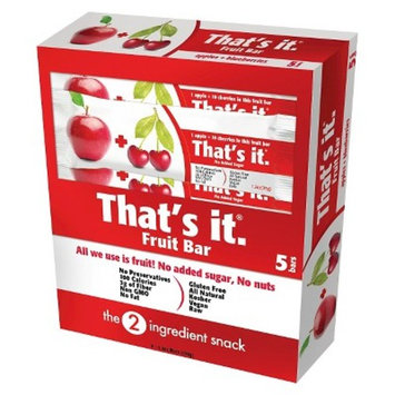That's It.® Apple And Cherries Nutrition Bar - 6oz - 5ct