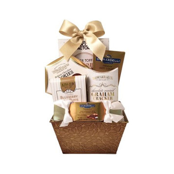 Gordan Gifts Inc Deck the Halls! Sweet and Savory Gourmet Food Basket Gift Set