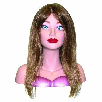 Hair Art Courtney Designer Mannequin Light Brown Miniature Mannequin