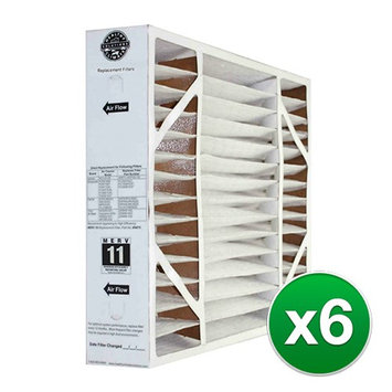Replacement Air Filter for Lennox 20 x 25 x 5 MERV 11 (6-Pack) Air Filter