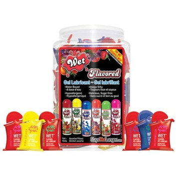 Wet Gumball Clear Flavor Lube Refill Only 10ml Assorted
