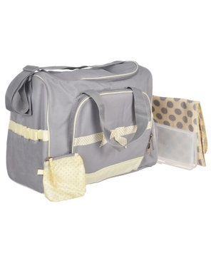 Pacesetter Baby Essential 4-in-1 Diaper Bag - Yellow/Gray