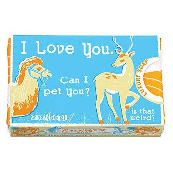 BlueQ I Love You... Can I Pet You Luxury Soap