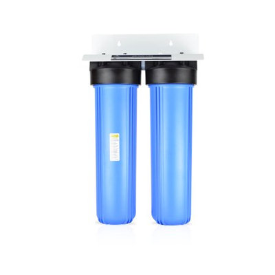 Apex Water Filters, Inc. Apex 2-Stage Whole House Water Filtration System w/ KDF -Removes Chlorine