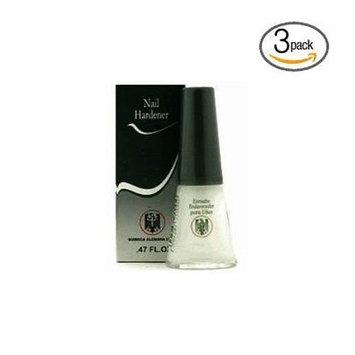 Quimica Alemana Nail Hardener 0.47oz (Pack of 3) w/Free Nail File