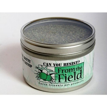 From The Field 1-Ounce Can You Resist Catnip Kitty Safe Stalkless Tin Can