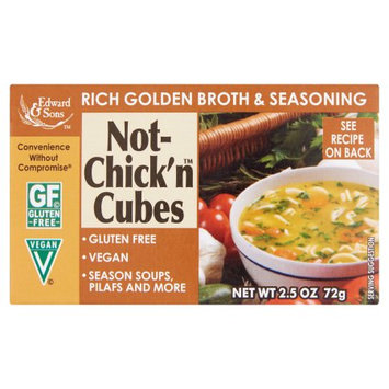 Edward & Sons Trading Co., Inc. Edward; Sons, Bouillon Cube Gf Not Chck, 2.5 Oz (Pack Of 12)