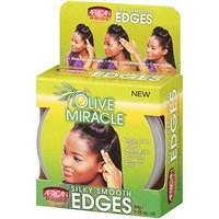 AFRICAN PRIDE OLIVE MIRACLE SILKY SMOOTH EDGES 2.25 OUNCE EA