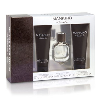 Mankind 3 Piece Gift Set for Men 1 oz. EDT Spray by Kenneth Cole