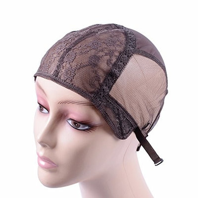 dark brown Small/Medium/Large JewishWig Caps For Making Wigs