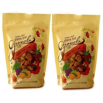 Trader Joe's Loaded Fruit and Nut Gluten Free Granola, 12 oz - 2 pack