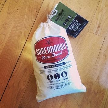 SOBERDOUGH Roasted Garlic Beer Bread Mix, 16 Ounce [Roasted Garlic]