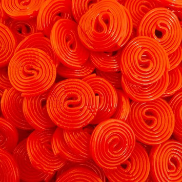LaetaFood Bulk - Broadway Wheels Strawberry Licorice Chewy Candy (Pack of 3 Pounds)