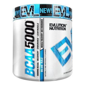 Evlution Nutrition BCAA 5000, Blue Raz, 8.46 Oz