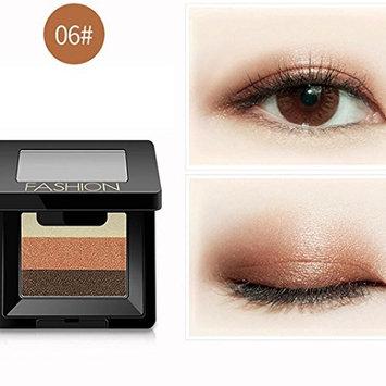 Eyeshadow by Binmer(TM) , 3 Colors Women Cosmetic Makeup Neutral Nudes Warm Eyeshadow Palette Makeup Cosmetic Accessories (F)