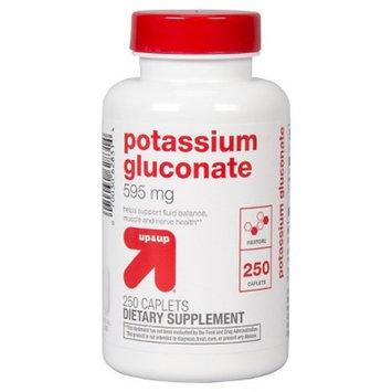 Potassium Gluconate 595 mg Caplets For Restore - 250 Count - up & up™